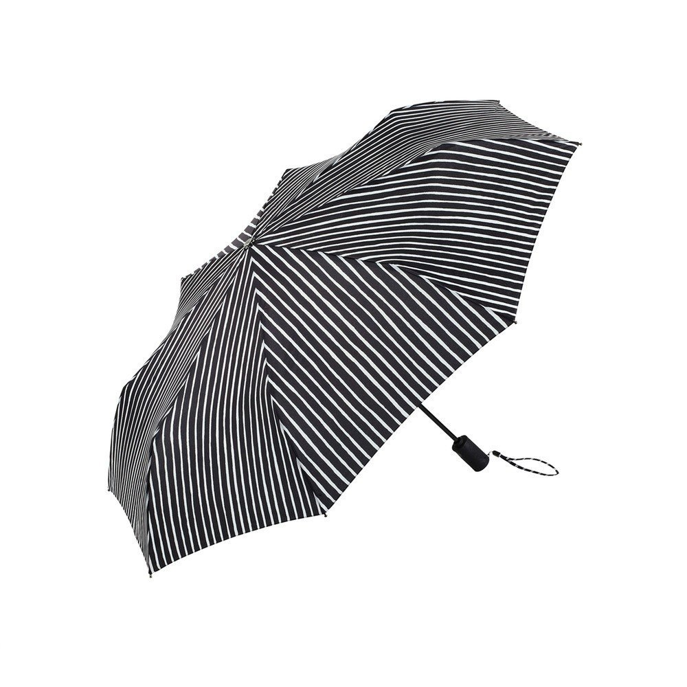 """A cheerful antidote for dreary weather, Vuokko Nurmesniemi's bold textile design for the Piccolo Stick Umbrella makes rainy days seem a little brighter. The Piccolo Stick Umbrella is crafted from the durable water resistant polyester to keep water at bay while the wooden handle and manual open and close function gives shelter when you need it most.  Search """"copenhagen elevations achitectural print black frame"""" from Modern Umbrellas to Get You Ready for April Showers"""