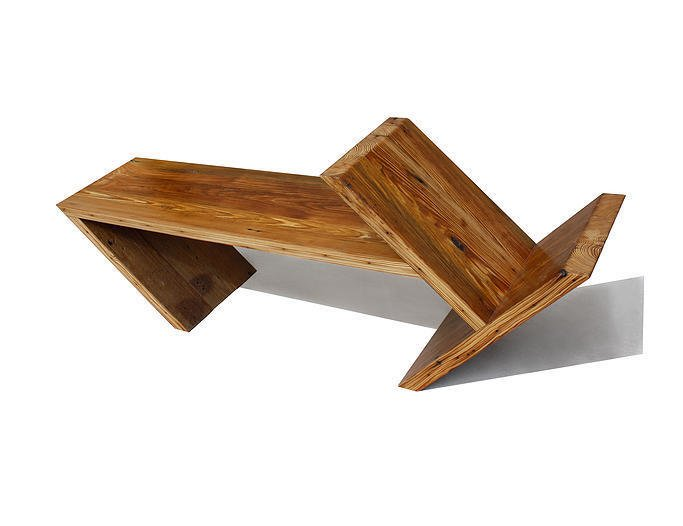 Kansas. Nicole and Robert Boles of Same Tree draw upon their backgrounds in fashion design and engineering to create appealing, multifunctional furniture such as the Angle, a Douglas fir coffee table that contains storage space and can be used as a bench.  Reasons to Love Design Made in America by Dwell