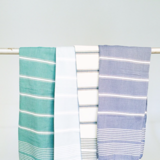 Louisiana. Based in New Orleans, Loomed NOLA produces hand-woven, organic Turkish textiles, from tea towels to blankets.
