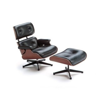 Eames Demetrios, head of the Eames office, joins Dwell on Design for a presentation on authenticity in the design world, addressing questions such as why consumers should buy original design, every time.   Vitra Miniature Collection - Eames Lounge + Ottoman