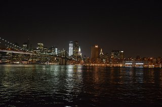New York City, population 20,300,000. New York City was the world's first megacity and remains America's largest.
