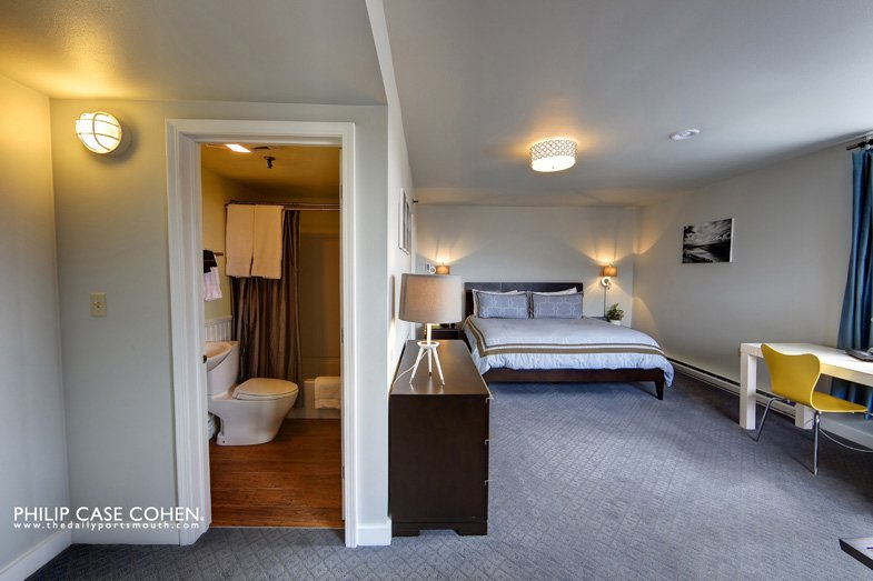 One of Ale House Inn's cozy bedrooms.  Hotel Focus: Ale House Inn by Anna Goldwater Alexander