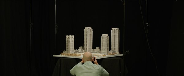 Many of the offices are home to detailed architectural models, which architects use to to translate their designs into three dimensional rough drafts.
