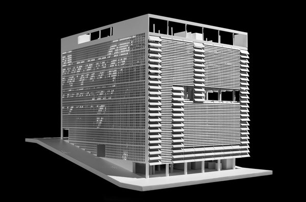 Building for the Emprezas Gráficas O Cruzeiro, Oscar Niemeyer, 1949. Photo by Pat McElnea. Images provided courtesy The Irwin S. Chanin School of Architecture Archive of The Cooper Union.