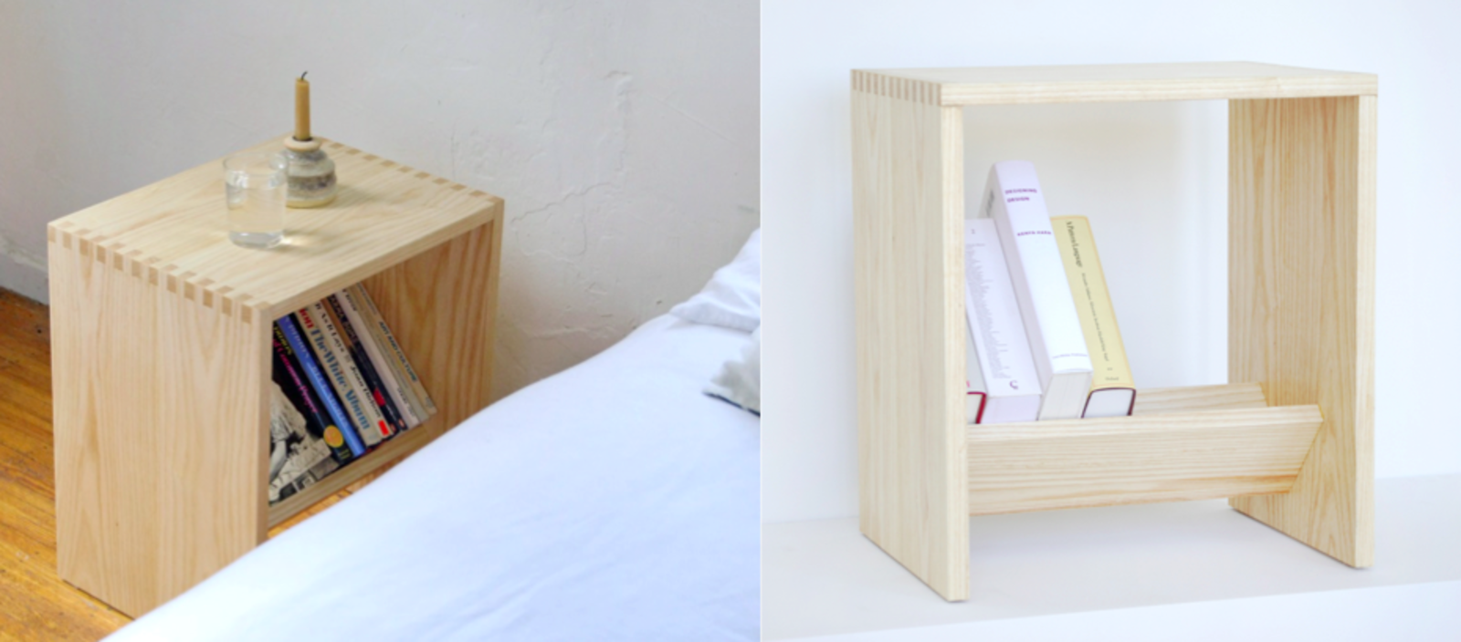 Photo 2 Of 5 In Nightstands We Love By Luke Hopping From A Bibliophile Shares His Book Storage Secrets Dwell