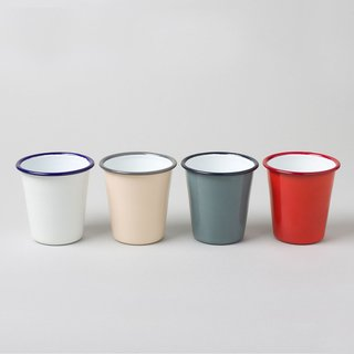 A best seller at the Dwell Store since its beginning, these tumblers from Falcon Enamelware are a summer staple. Durable and versatile, the tumblers can be used both indoors and out. Expertly crafted, the tumblers are easily stackable.