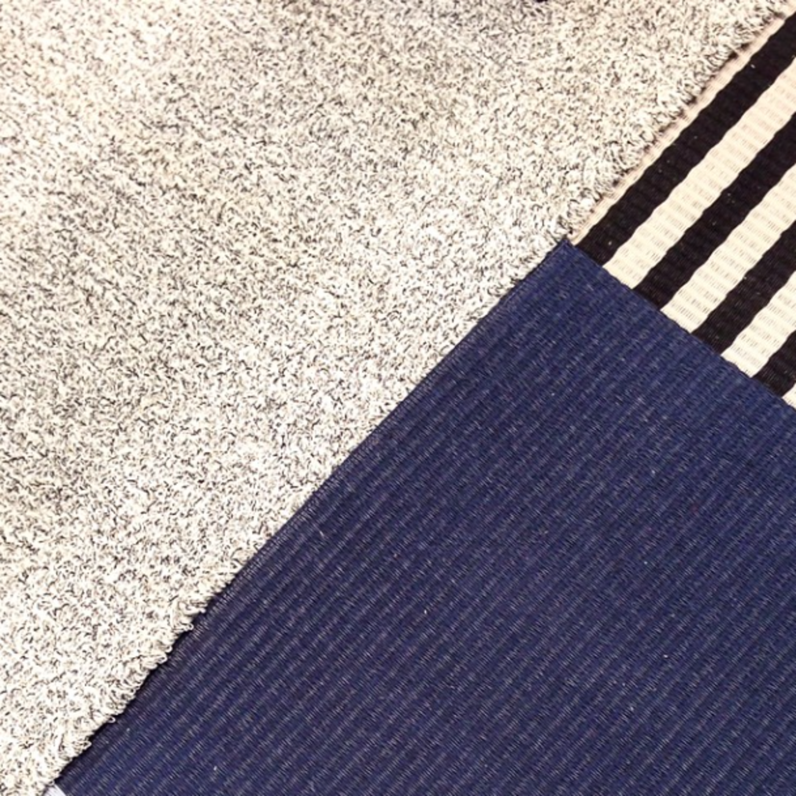 These rugs at Woodnotes, a Finnish company, are crafted from paper cord and made to order.  Editors' Picks from Salone del Mobile 2015: Day One by Dwell