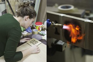 All of the brand's furniture is made by hand by craftspeople in France.