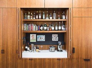 5 Hidden Home Bars - Dwell