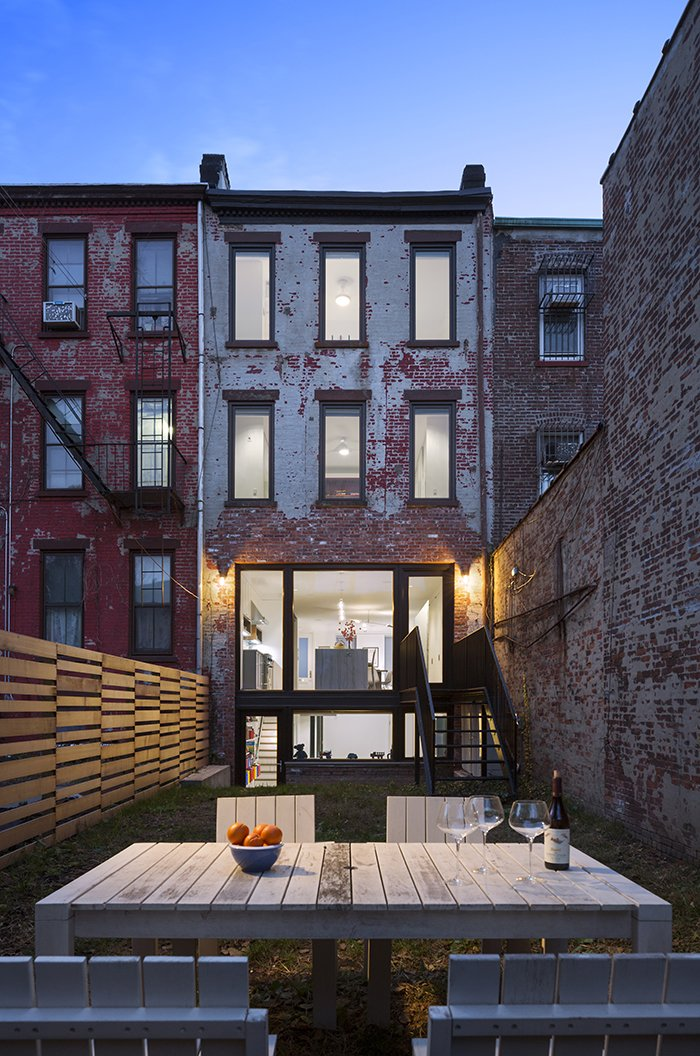 Leone Design Studio transformed James Darrow and Monica Folch's three-unit apartment building in Park Slope into a luminous single family home.  Photo 4 of 10 in Get an Advance Look at the Amazing Residences on Dwell's Brooklyn Home Tour