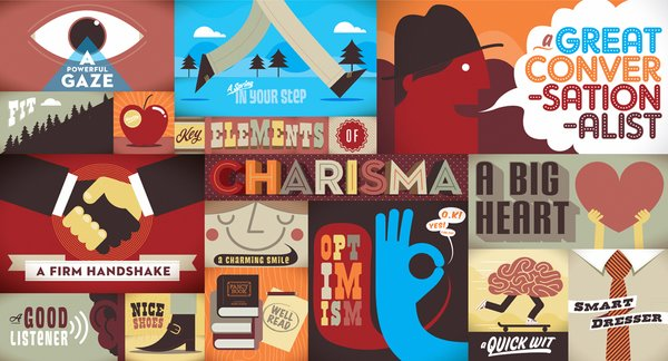 Metcalf and several other South African based designers/illustrators created various colorful murals for a large financial institution meant to communicate a core brand value, while remaining unique in style and execution. The designer chose 'charisma' and 'inspiration' as his two core brand values to work off of.