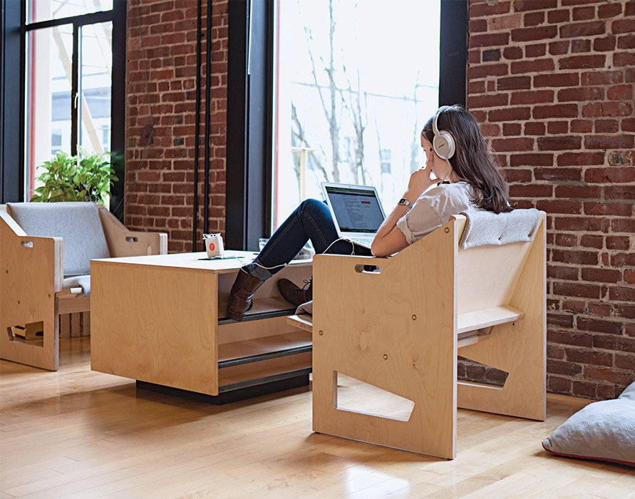 If you want to stay motivated, focused, and productive through the winter months, here are some tips to help keep your spirits up as you breeze through your tasks at work.  Photo 1 of 6 in How to Beat the Winter Blues at Work from Finally, Office Furniture for the Laptop Workforce
