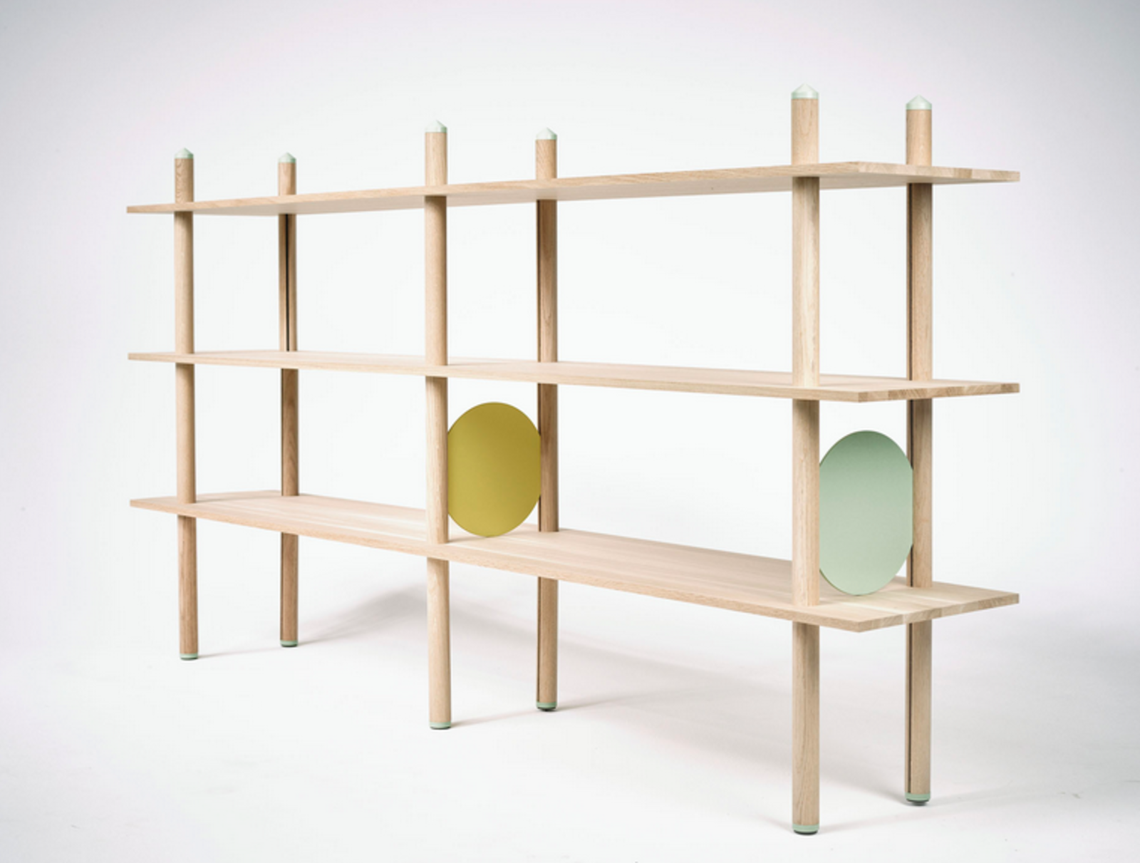 Kristian Knobloch, a designer based in Munich and London, created the modular Babel shelf.  Photo 3 of 16 in 11 Emerging Talents You Should Know from Salone Satellite 2015