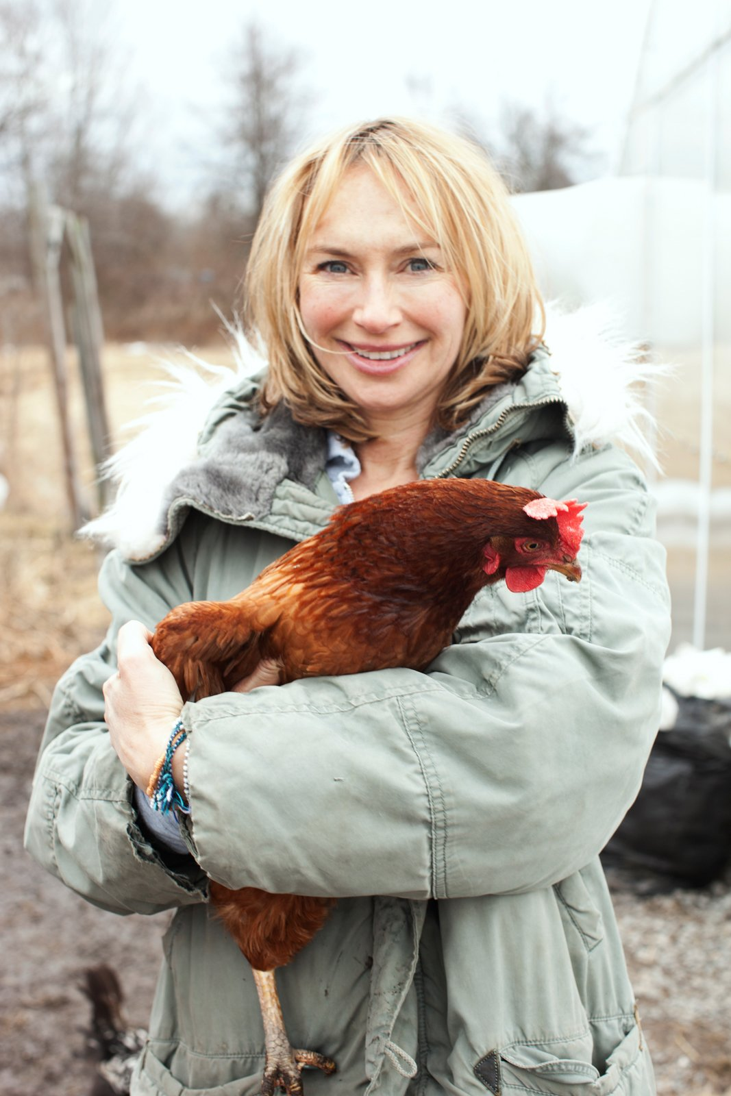 Editor-in-Chief Ann Marie Gardner. Photo by: Mark Hartman/Modern Farmer  Photo 1 of 2 in Modern Farmer