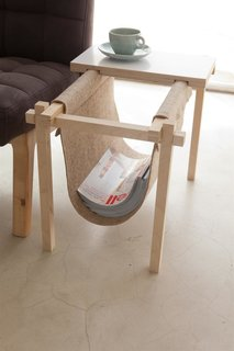 Magazine Rack by Chuck Routhier