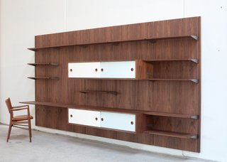 Danish company Onecollection holds the license to Finn Juhl's fantastic mid-century furniture, and they've just released his panel system (which you can see in person at his home, now a museum).