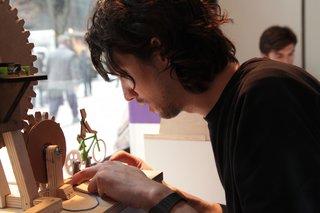 MoMA Design Store Windows: littleBits by Ayah Bdeir