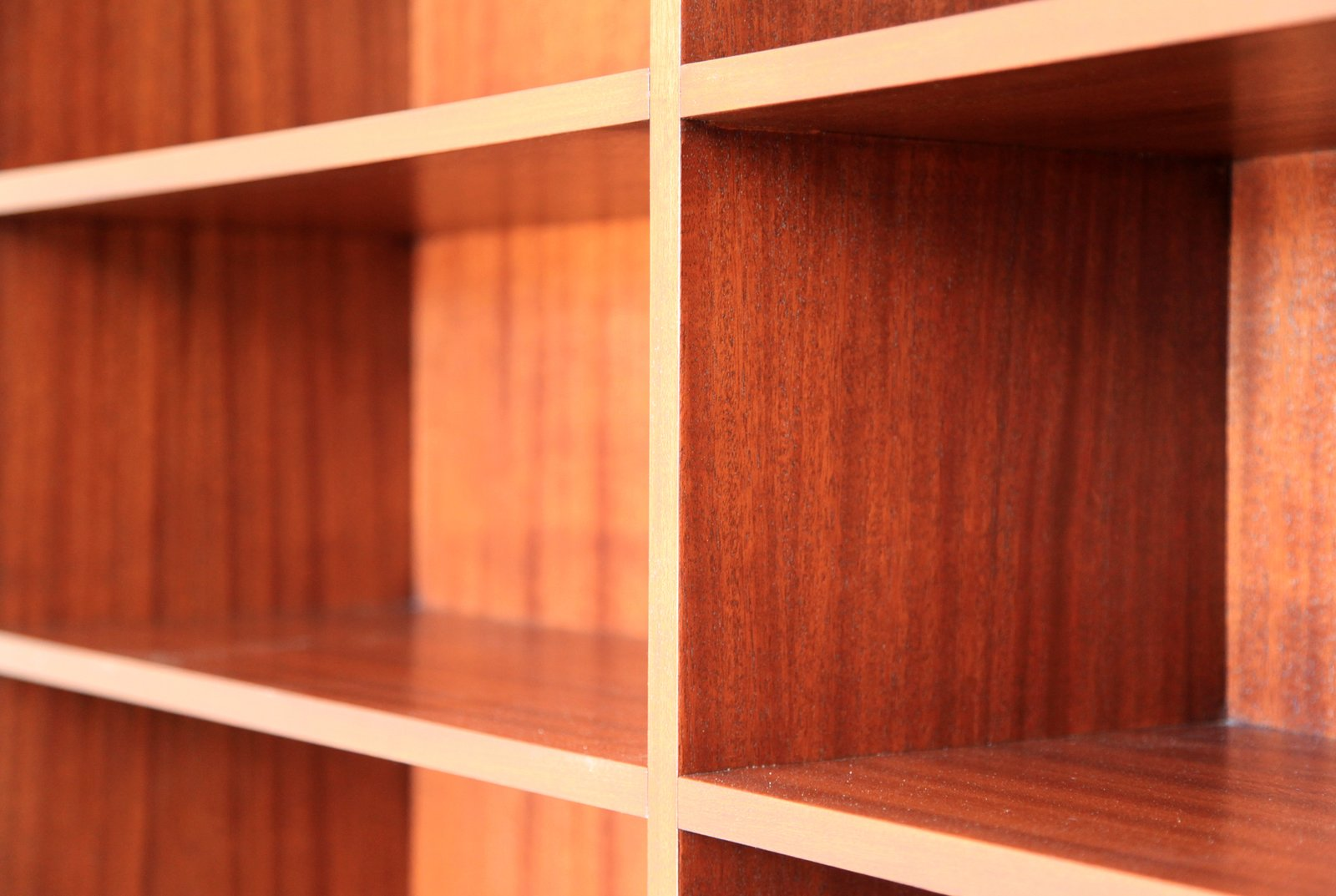 A close-up of the living room bookshelf.  Photo 17 of 17 in Dwell Home Venice: Part 18