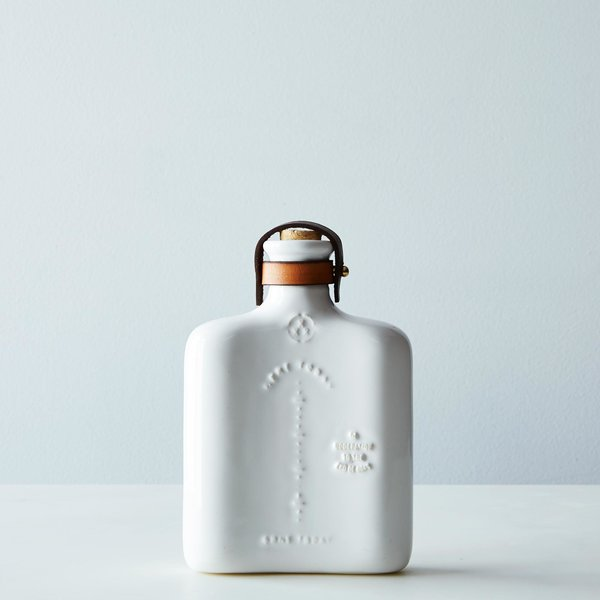 We'd curl up by the fire with this ceramic flask from Miscellaneous Goods Company. $92. Photo by James Ransom.