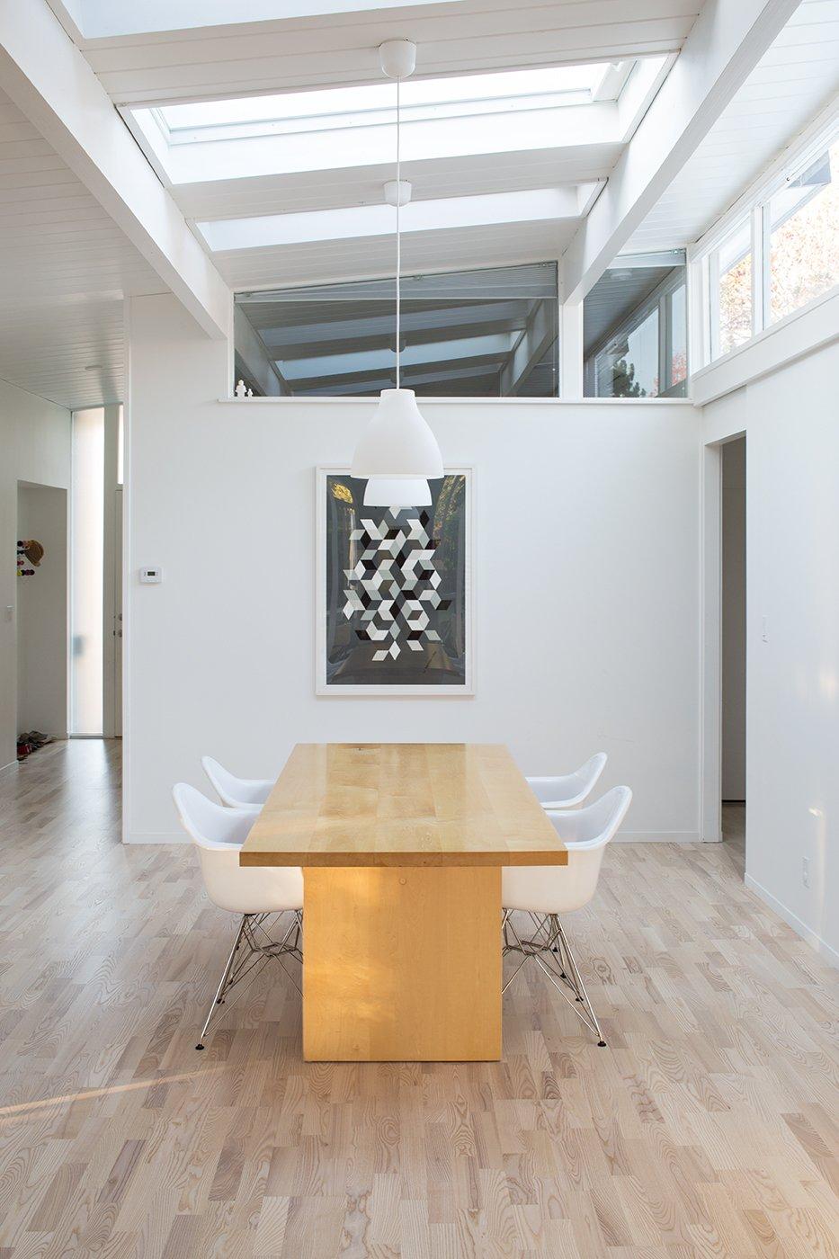 california eichler midcentury home dining room
