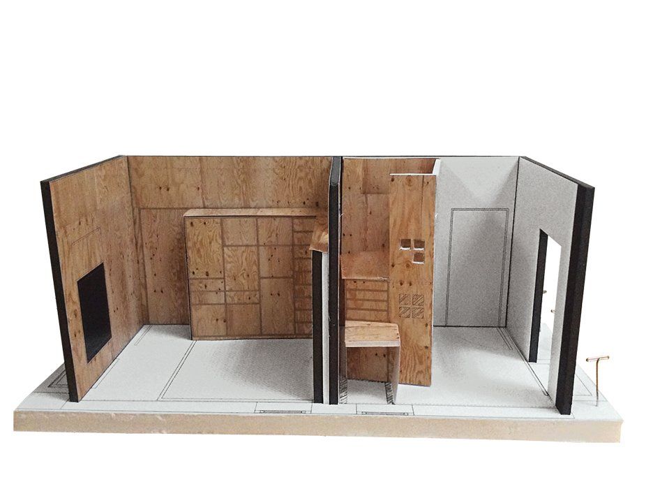 An early model of Liv's room.  Photo 11 of 12 in Sustainability Guided Every Decision at this Town House Remodel in Harlem