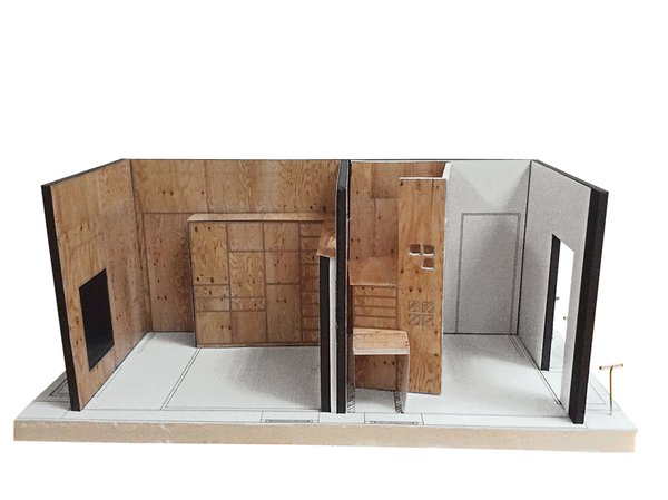 An early model of Liv's room.