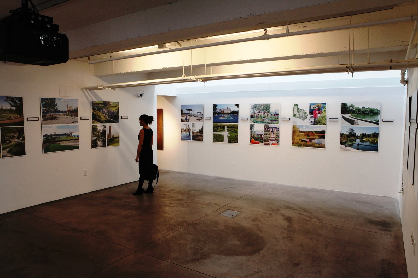 The Center for Architecture is exhibiting the NYASLA Design Awards through this Saturday. Photo courtesy of the Center for Architecture.  New York Landscape Architects Design Awards by Sara Carpenter