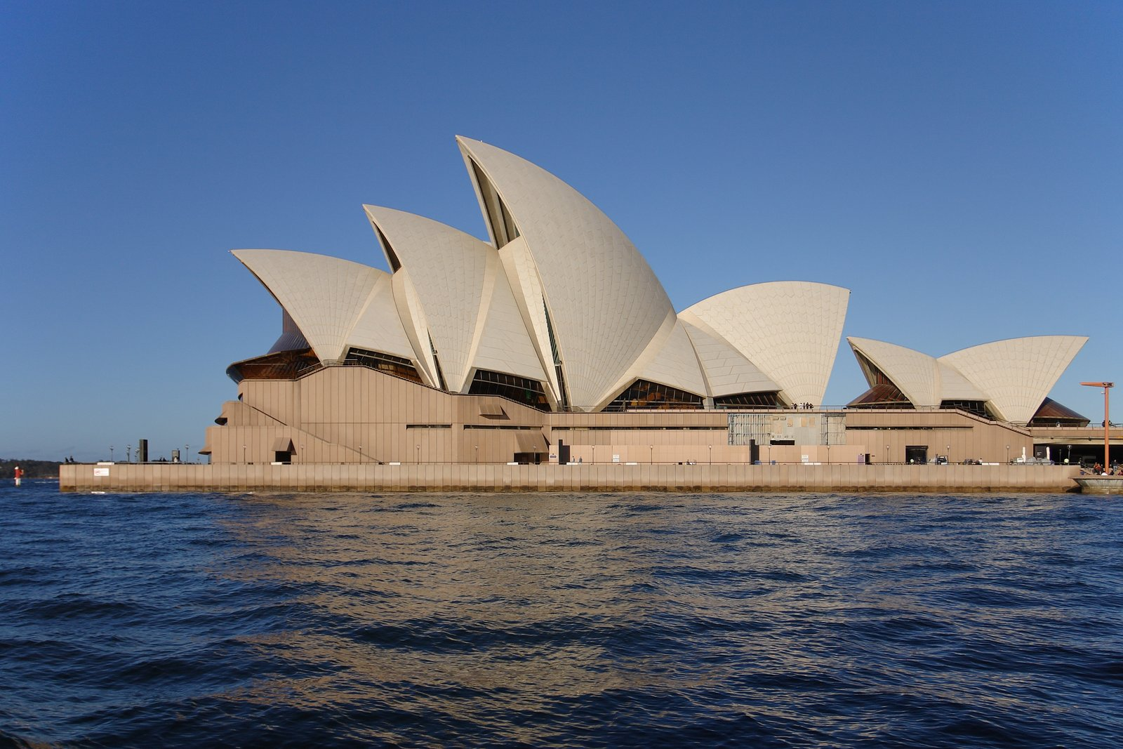 The unanimous masterpiece of Australian modernism, the Sydney Opera House was designed by the Danish architect Jorn Utzon. Utzon would eventually leave Australia before the buildings completion never to see it in the flesh.  Photo 2 of 3 in Three Buildings: Emilio Fuscaldo