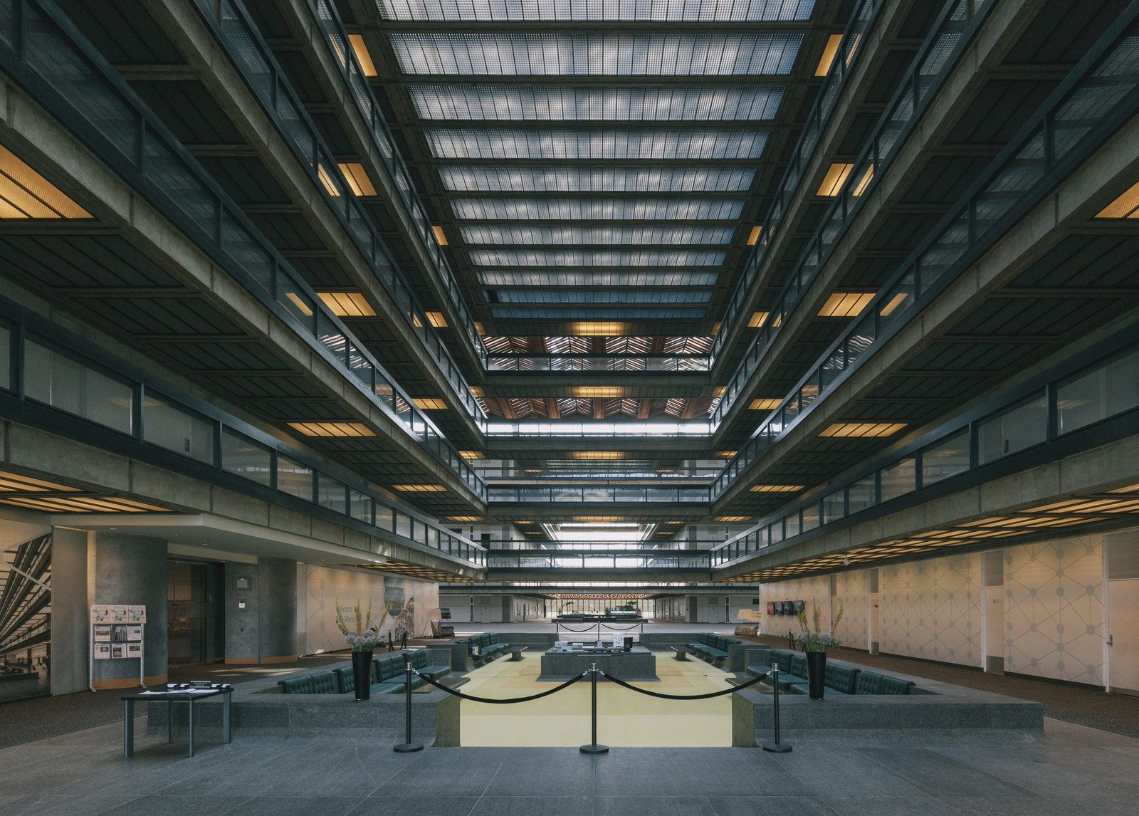 The 1957 building is in the process of admission to the National Register of Historic Places.  Photo 3 of 4 in Eero Saarinen's Giant 1957 Masterpiece in New Jersey Restored and Reimagined