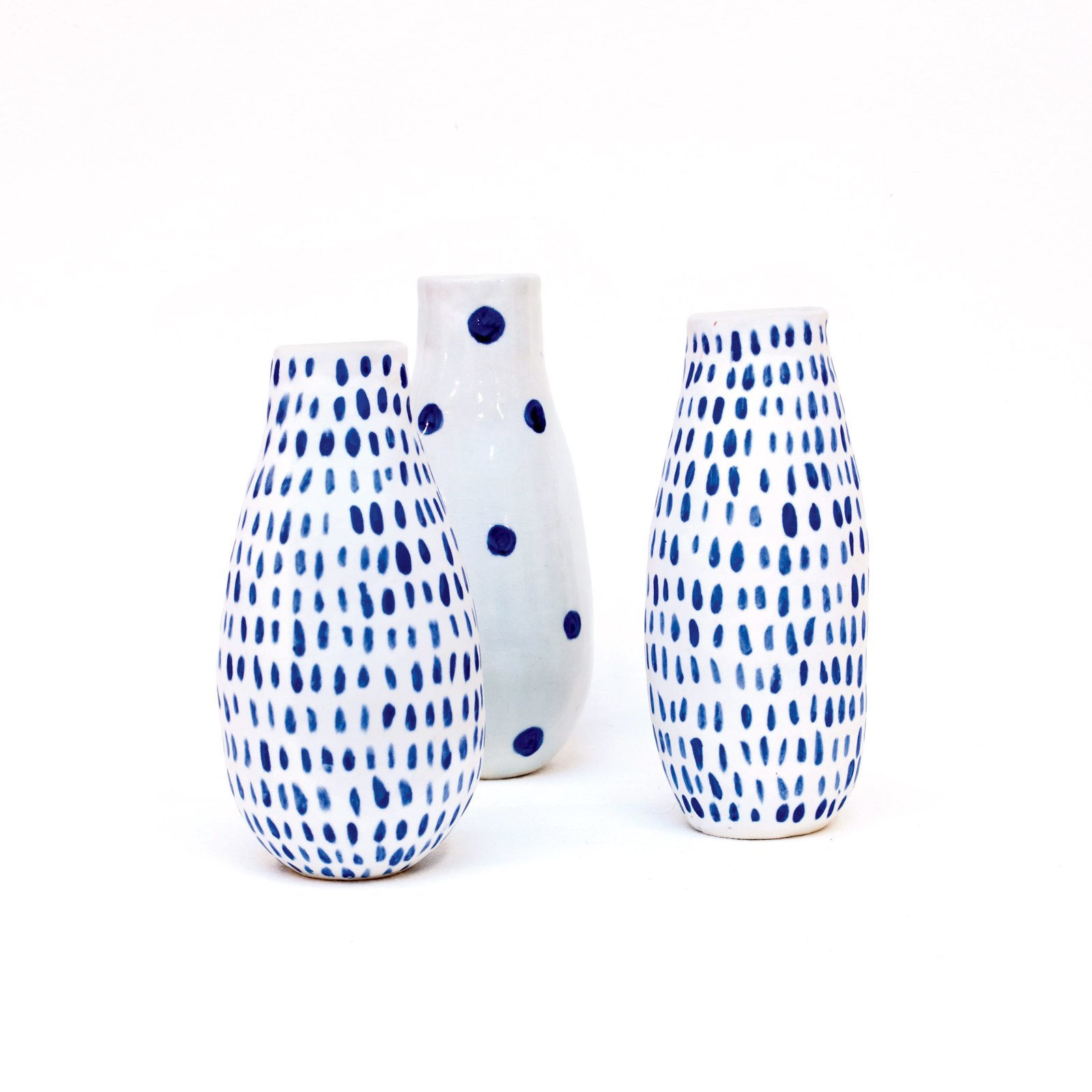 Pittburgh, Pennsylvania  Vases by Reiko Yamamoto, $85 each. Ceramicist Reiko Yamamoto creates porcelain tabletop objects with simple forms and poetic imperfections by intuitively responding to the clay as she works.  Photo 2 of 9 in 9 Modern Designs That Were Born in the USA