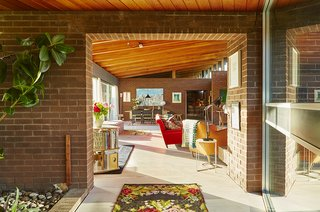 Quirky 1970s House in the English Countryside Showcases an Amazing Modern Furniture Collection