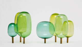 Engesvik's glass trees will be part of The Essence of Things: New Designs from Norway exhibition.