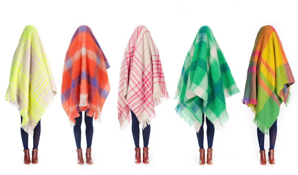 Gorman's new mohair throw blankets are made in Melbourne, Australia. Photo credit: Gorman.  Photo 2 of 3 in Mohair We Love: Gorman Blankets