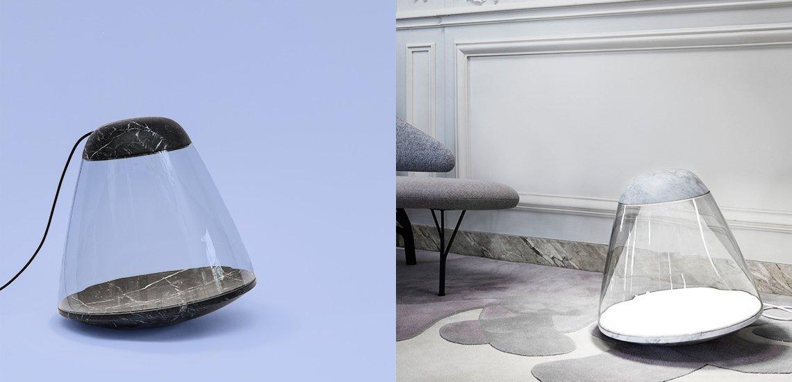 Apollo floor lamp by Dan Yeffet & Lucie Koldova for La Chance, 2013.  Photo 7 of 10 in Furniture Designer Spotlight: La Chance