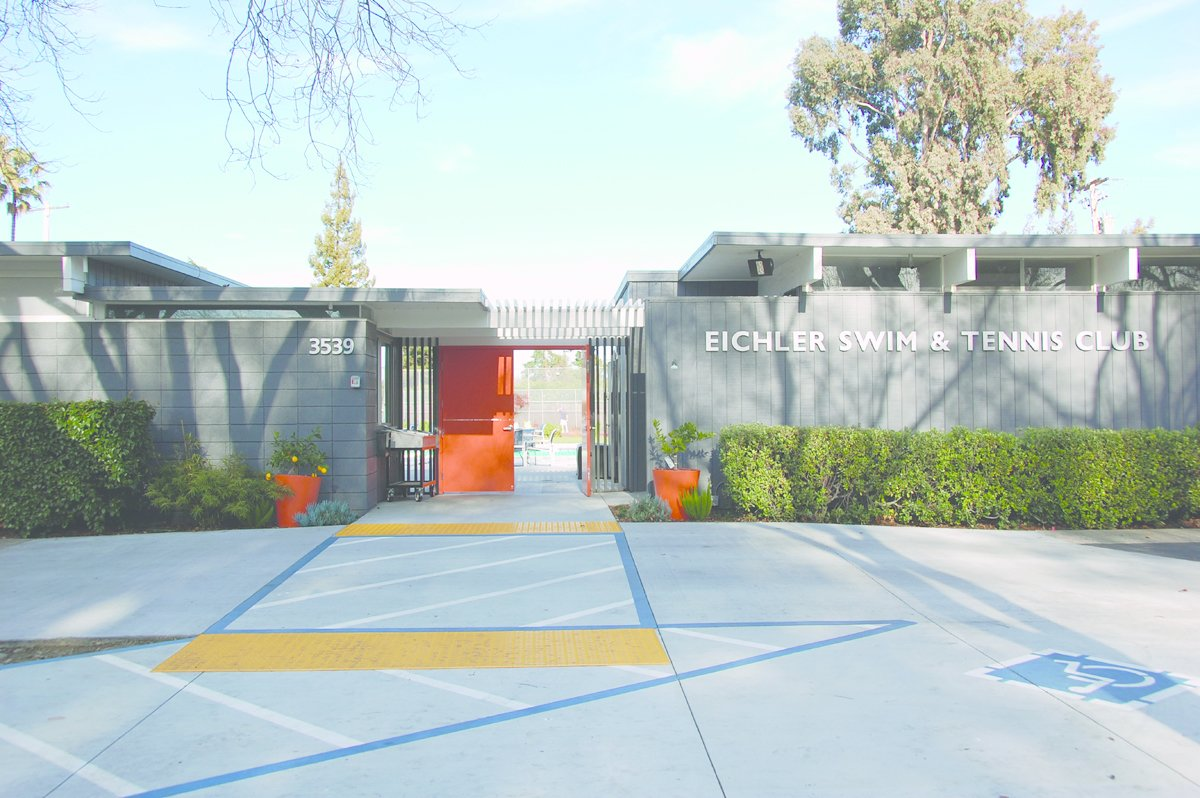 Eichler Swim & Tennis Club, Palo Alto, California.  Photo 2 of 6 in Never-Before-Seen Images of Iconic Midcentury Modern Eichler Homes