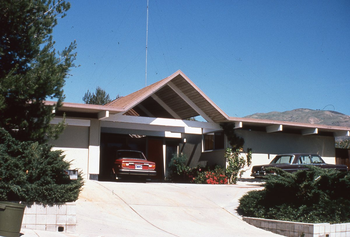 Exterior and House Building Type Balboa Highlands, Granada Hills, California, by Joseph Eichler.  Photo 5 of 6 in Never-Before-Seen Images of Iconic Midcentury Modern Eichler Homes