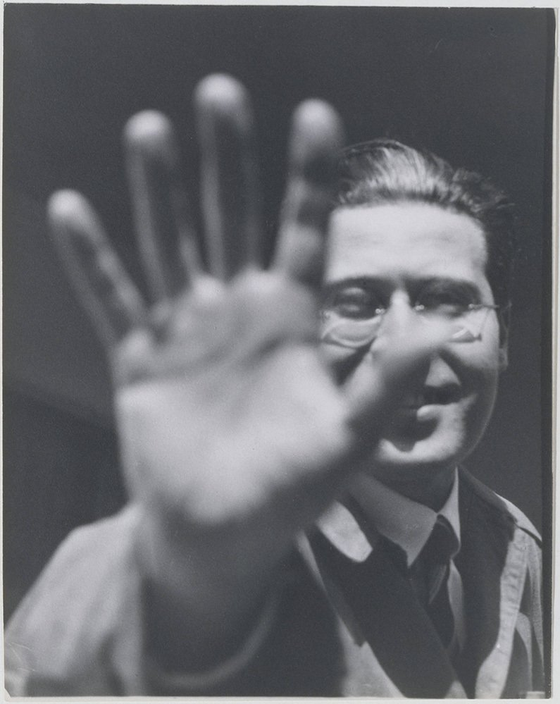 László Moholy-Nagy, 1925-26, gelatin silver print, Lucia Moholy © The Metropolitan Museum of Art  Photo 2 of 13 in Friday Finds 05.10.13
