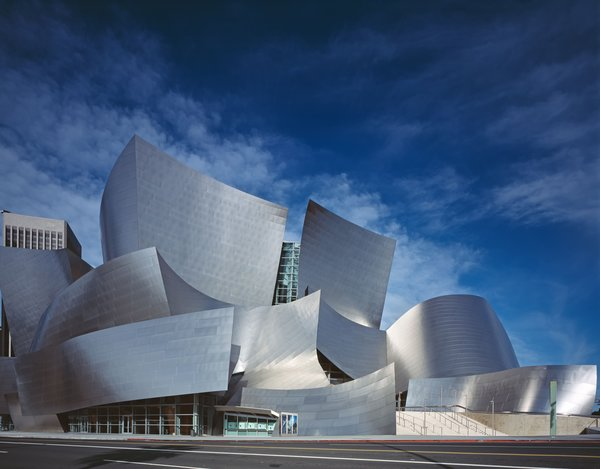 Walt Disney Concert Hall, Los Angeles, California (2003)Frank Gehry's striking concert hall, with its saddle-shaped seating deck that envelopes the Los Angeles Philharmonic, is considered one of the most acoustically sophisticated music venues in the world. As stated in the documentary, the structure set a new model for successful public buildings that embrace experimental shapes.  Be sure to tune into PBS to learn more about the 10 Buildings That Changed America.