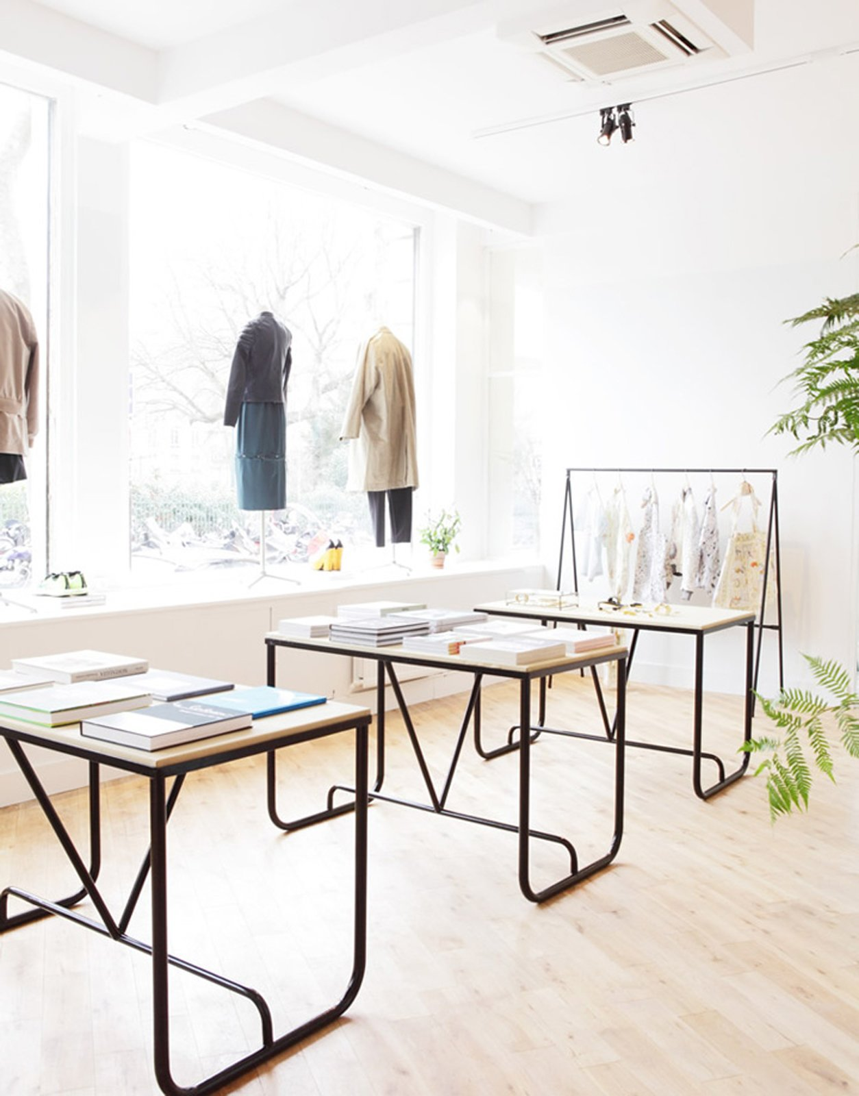 """We wanted to surround ourselves with people we love, who have joined the project and helped through their respective expertise to translate the best of what we wanted to offer in this place. "" Photo via Hit Bag.  Beautifully Designed Retail Stores by Eujin Rhee from Parisian Concept Store: The Broken Arm"