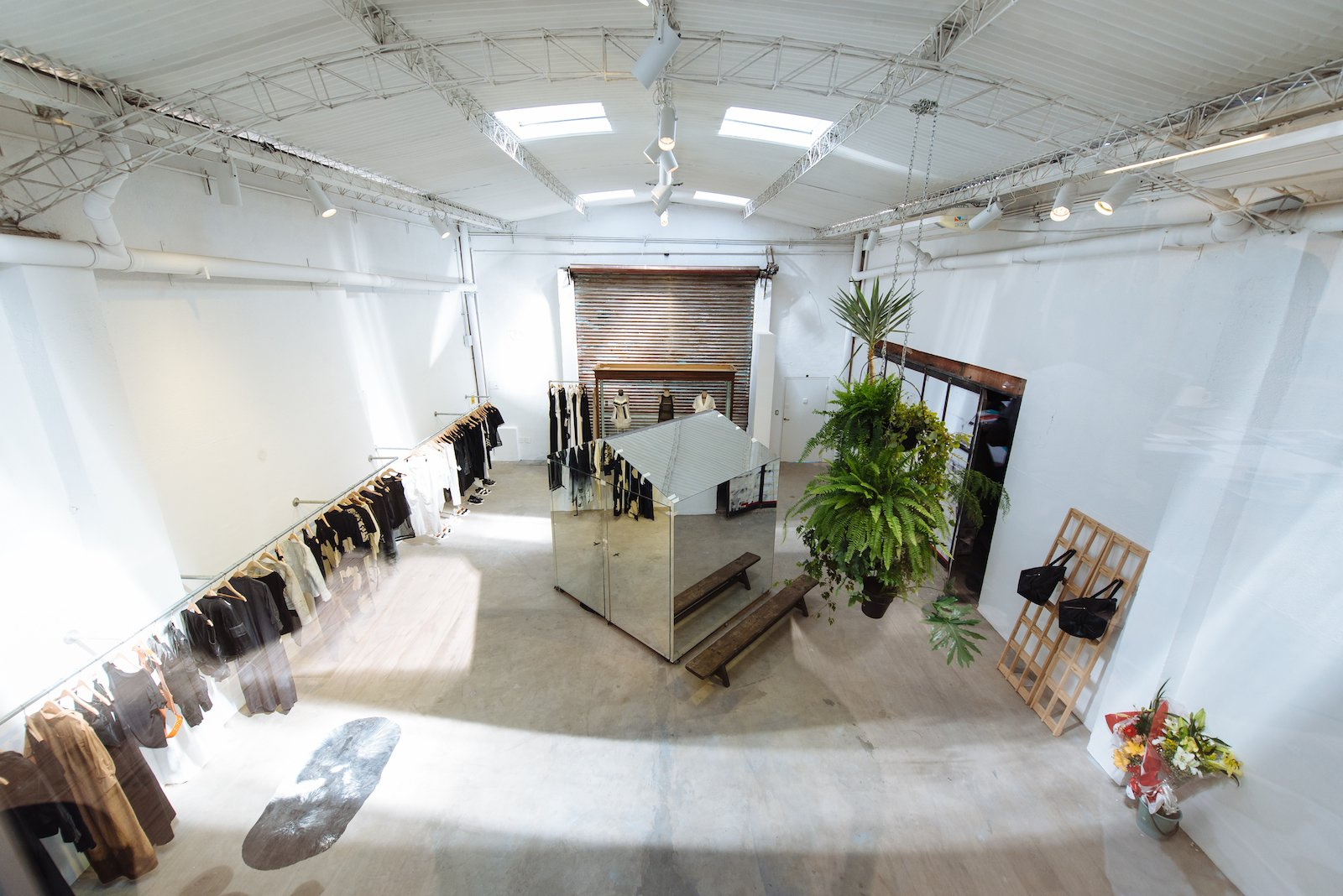 Walk past the moveable screen in the restaurant into JT, the newest fashion label and store of one of Argentina's most illustrious designers, Jessica Trosman. The space is a converted warehouse; the factory and offices are located on site. Humboldt 291.  Photo 7 of 8 in 8 Places to Visit in Buenos Aires