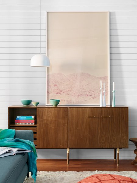 Atlanta-based furniture designer Chris Hardy collaborated with midcentury master Jens Risom, who just turned 99, on the Ven storage collection for Design Within Reach. The midcentury-inspired pieces will be on view at WantedDesign. (11th Avenue between 27th and 28th)  Storage by Dwell from Things to See at NYC Design Week 2015