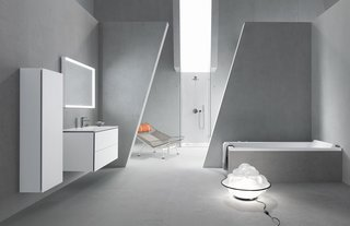At ICFF, Duravit will present ME by Starck, a collection of sleek ceramic sinks, toilets, and accessories designed by Philippe Starck. (Javits Center, Booth 1724)