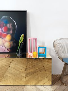 A Furniture Collector's Renovated Flat in Paris