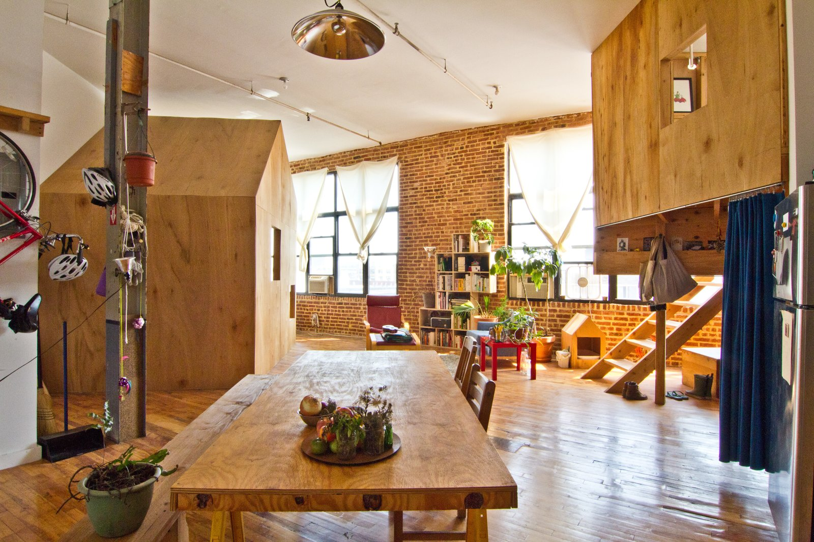 Cabin in a Loft, Brooklyn, New York.  Photo 7 of 7 in Airbnb Comes Home Preview