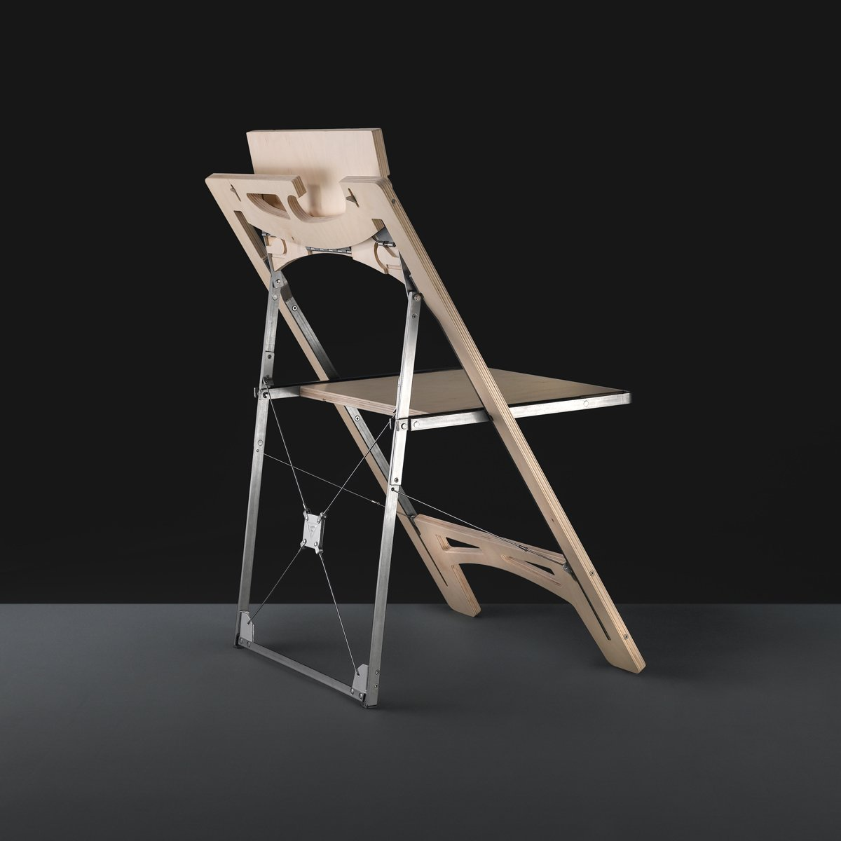 The Tilt chair by Folditure.  Small Spaces