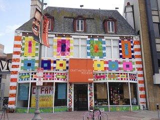 Yarn Bombing Uses Knitting as a Public Art Form