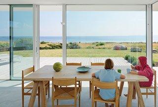 A Scandinavian Summer Home Built for Surf, Sports, and Sun