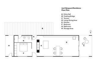 Juul-Nørgaard Residence Floor Plan