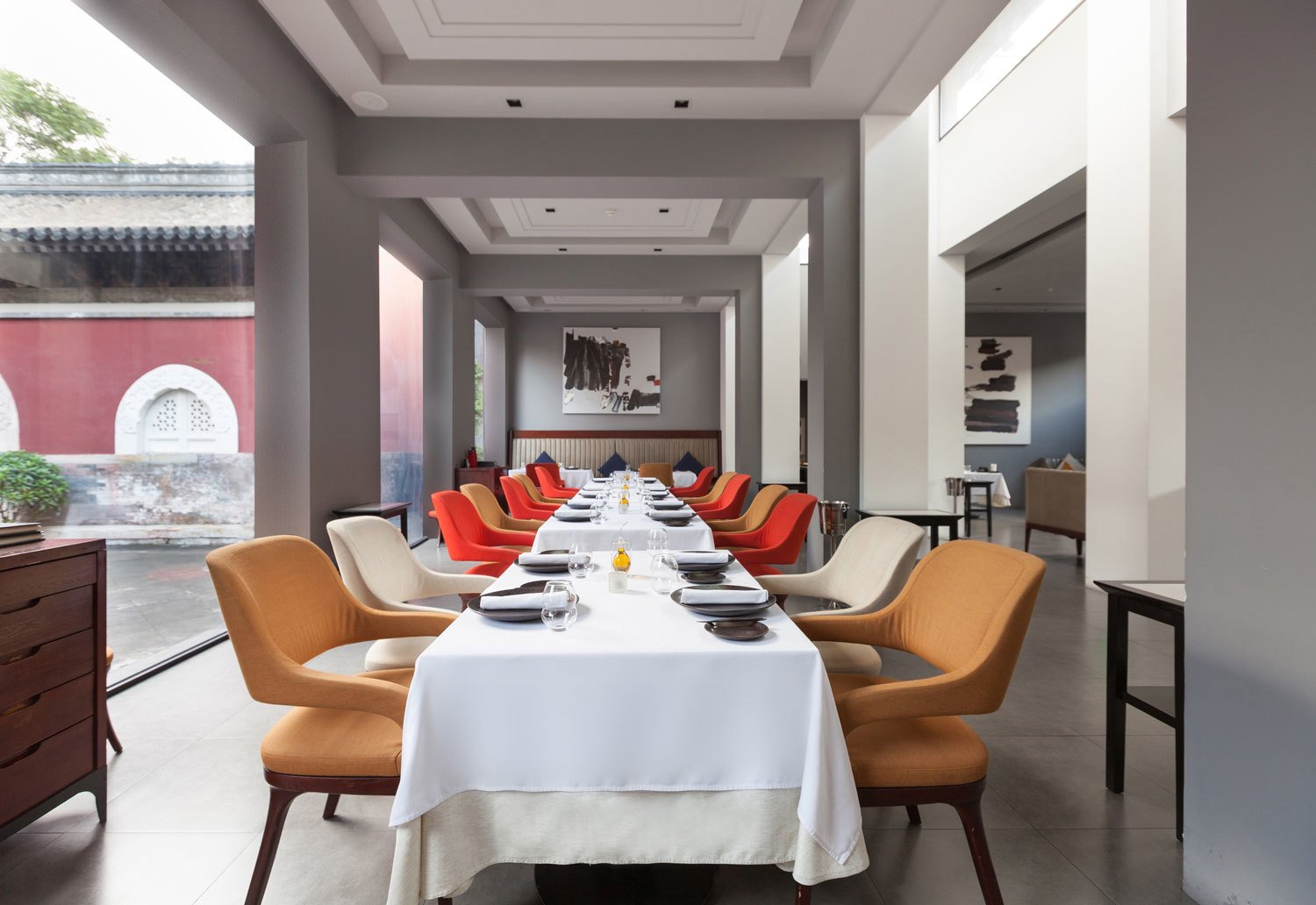 Temple Restaurant does European fine dining on the grounds of a 600-year-old temple that was used as a television factory during the Cultural Revolution. The beautiful lot is also home to a boutique hotel and gallery.  Photo 3 of 10 in 10 Places to Visit in Beijing