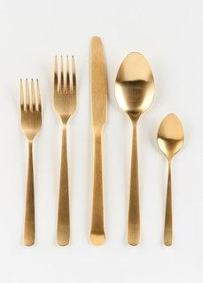 Heart of Gold Flatware Set ($70)